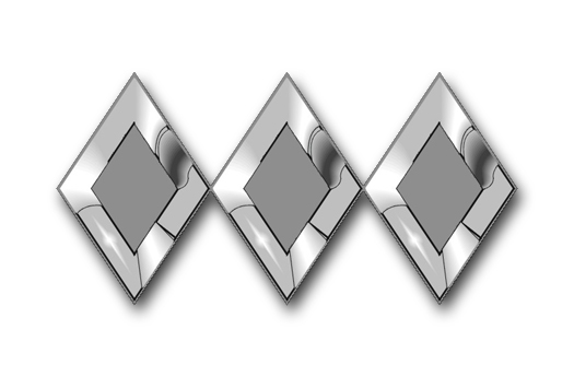 Three diamonds signify the cadet Colonel rank.